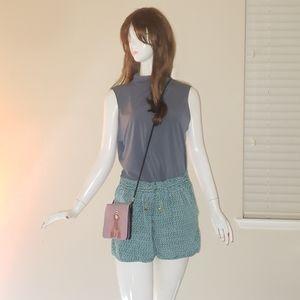 Tahari high neck sleeveless blouse